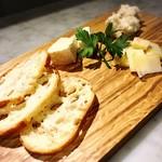 ハスキー - チーズ盛り合わせ