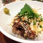 TSUBOYAN - 牛ハラミとろろ丼✩