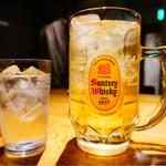鉄燻CHOI URASAN - メガ角ハイボール 650円