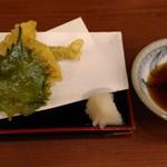 一久庵 サンシャインシティ・アルパ(B1) - 穴子天(650円)