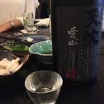 麦酒庵 - 天吹 裏大吟醸 愛山「佐賀県三養基郡:天吹酒造」       (2016.Nov)