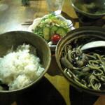 唐変木 - スミ汁定食