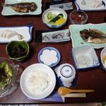温泉民宿 船長 - 朝食