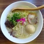 麺や 六六拳 - 料理写真:塩めん(あっさりBasic)+味玉