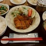 58456309 - イワシの梅肉フライ定食