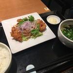 雑魚屋 - ☆チキン南蛮ランチ 842円(税込)