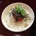 58461103 - ミニ明太丼♪
