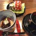 有機茶屋 あじゃり - ★★★☆ デザートとドリンク