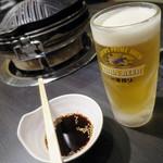 成吉思汗 大黒屋 - 生ビール_490円