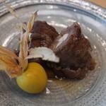 柚木元 - 信州牛の松茸巻き