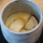 柚木元 - 松茸の茶碗蒸し