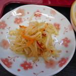 小中華郷土料理 - もやしのあえ物(ランチにセット)
