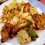 小中華郷土料理 - 盐煎肉(エンセンロー)