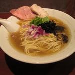 中華蕎麦 志 - 煮干そば(白醤油)