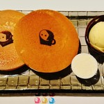 58465924 - 祇園店限定の『よーじや特製 ホットケーキ』(880円)~♪(^o^)丿