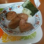 らーめん餃子ふるさと - 豚チャーシューメンの別皿