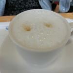 なかぱんカフェ - カプチーノ