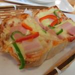 なかぱんカフェ - ピザトースト