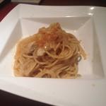 58467519 - パスタランチ 太刀魚と焼き茄子のスパゲッティ からすみ風味¥2500