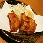 肉餃子専門店 THE GYO - ハイ・カラセット(660円+税)の揚げ餃子2016年11月