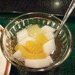 中国料理 萬里 - 杏仁豆腐