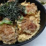 馬鹿値食堂 - かきフライ丼580円