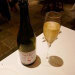 58470725 - イタリアの微発泡ワイン ボンベン