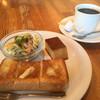 Fujii - 料理写真:ブレンドコーヒー400円とモーニング