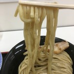 麺屋 たけ井 - 全粒粉入りの麺