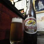 よりみち - ドリンク写真:ビール取り出しはセルフです