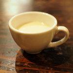 ルーナプレヌ - Bランチのスープ
