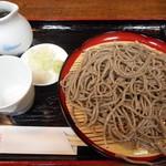 蕎麦処 凛 - 料理写真:もりそば(田舎)2016.11