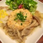 みどりのキッチン - 豆腐バーグ定食