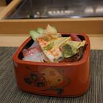 寿司竹 - ちらし並