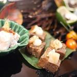 京都 吉兆 - 八寸 牛タン煮