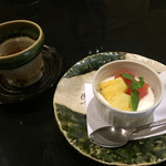 豆腐懐石 くすむら - デザートのパンナコッタ
