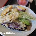 やまね食堂 - セット天ぷら