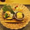 田菜花 - 料理写真:小松菜の白和え、酢のもの、大根豆腐