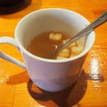 まめ びーんず - コンソメスープ