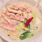 ヤンヤン - 白湯スープそば 900円