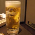 牛豚馬鶏 - 2016年11月 生ビールお代わり