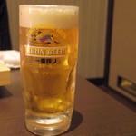牛豚馬鶏 - 2016年11月 生ビール