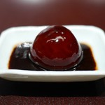 高台寺 和久傳 - 丹波牛に炊き梅のタレ