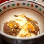 高台寺 和久傳 - 牛とじ丼