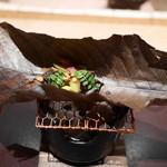 高台寺 和久傳 - 鰻の大葉焼き