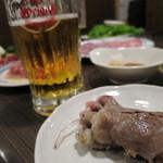 焼肉乃我那覇 - 生ビールと焼肉