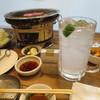 新世界 - 料理写真:七輪で焼肉
