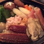 Sushi&Bar 琴 - お寿司屋さんの海鮮寄せ鍋~一例~