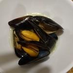 みっきー食堂 - ムール貝白ワイン蒸し