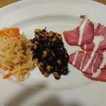 みっきー食堂 - 前菜3品